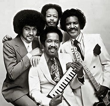 The Spinners soul pop R and B singers music band vintage photo