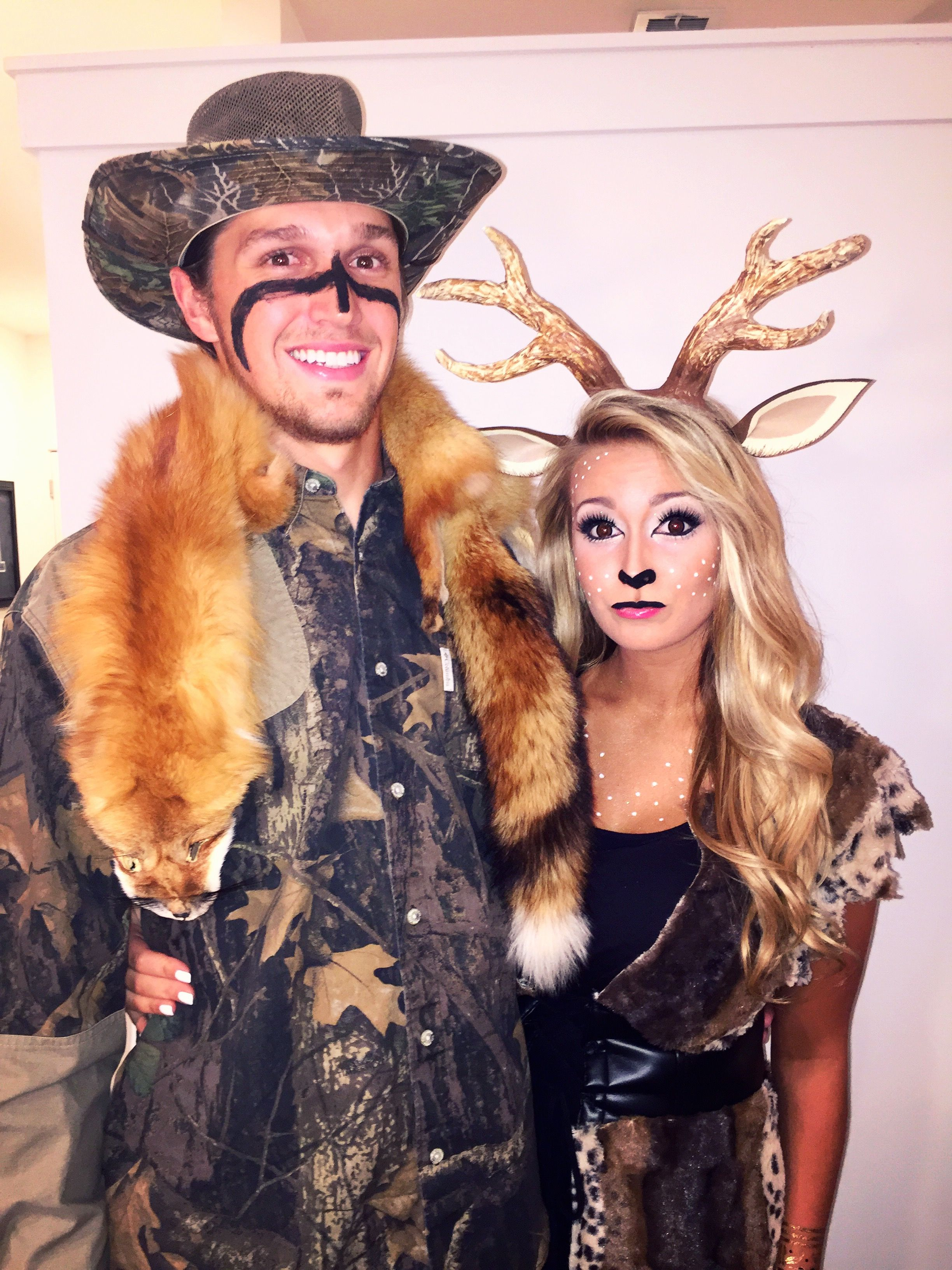 halloween costume a hunter and his deer some good ideas pinterest kost m und fasching. Black Bedroom Furniture Sets. Home Design Ideas