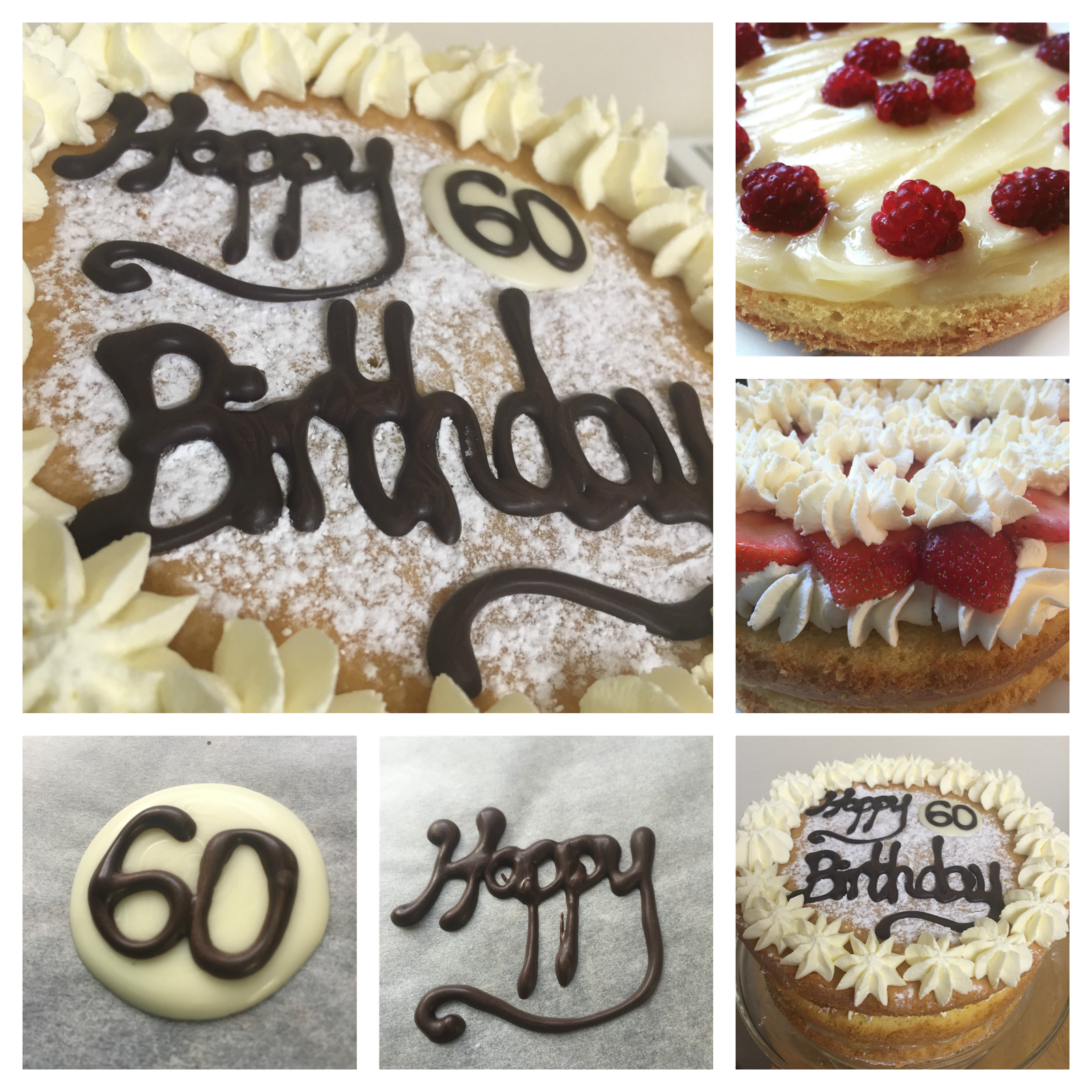Decorating A 60th Birthday Cake The Easy Way 60th Birthday Cakes Fairy Cakes Cake