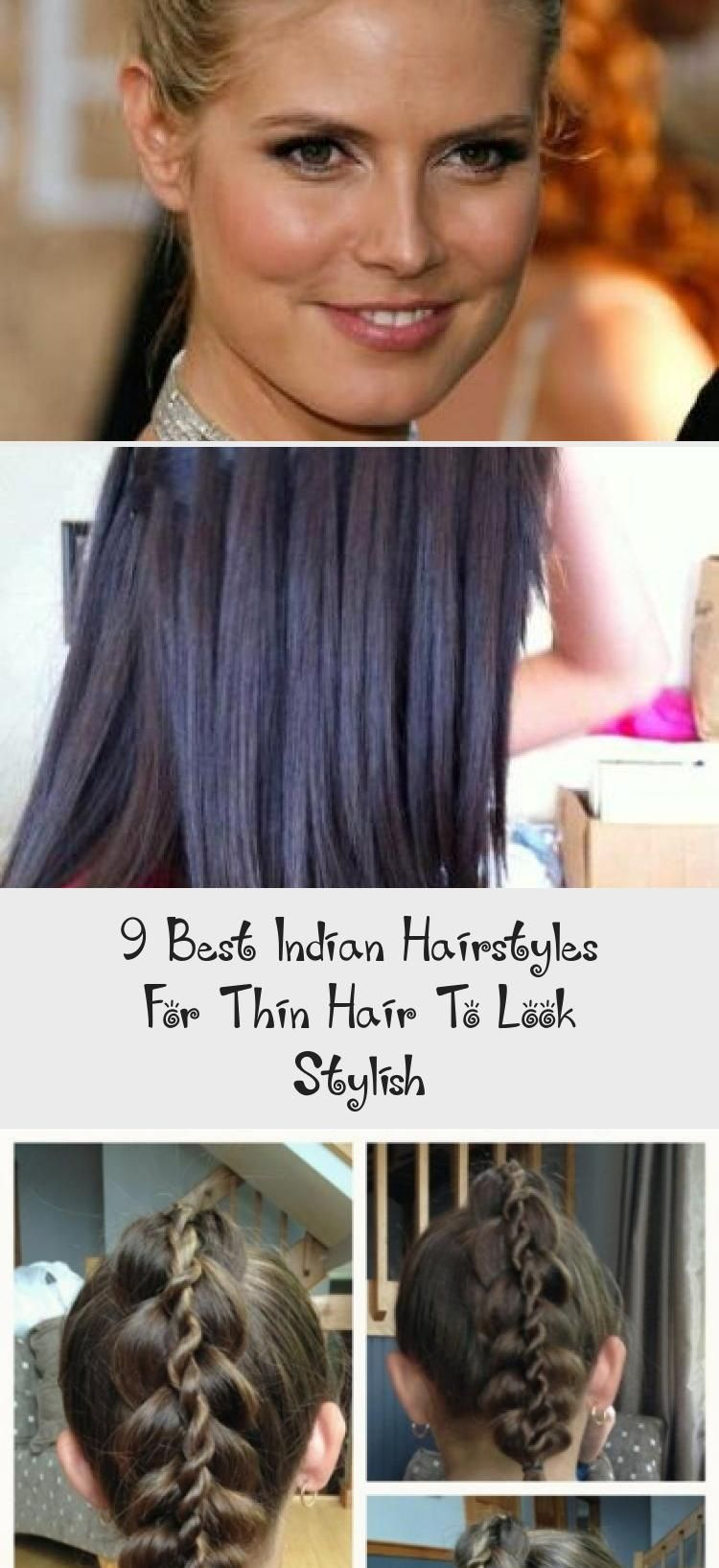9 best indian hairstyles for thin hair to look stylish in