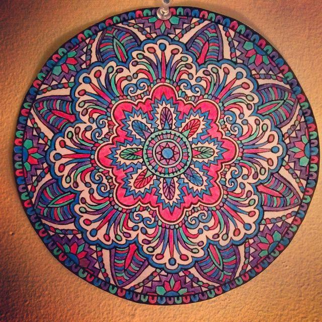 Colored Pencil: no. 1 - Jesse Rajca | Mandala art, Mandala ...