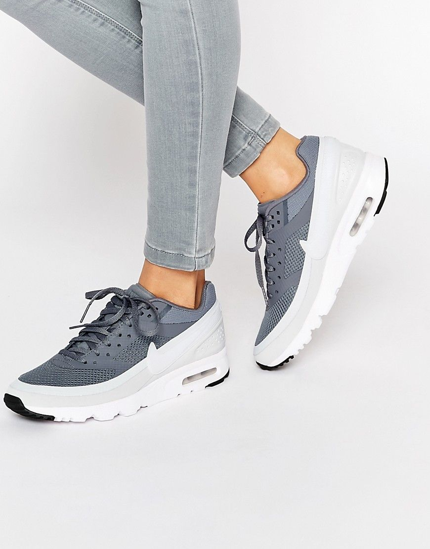 Nike Cool Grey & White Air Max BW Ultra Trainers | Nike air