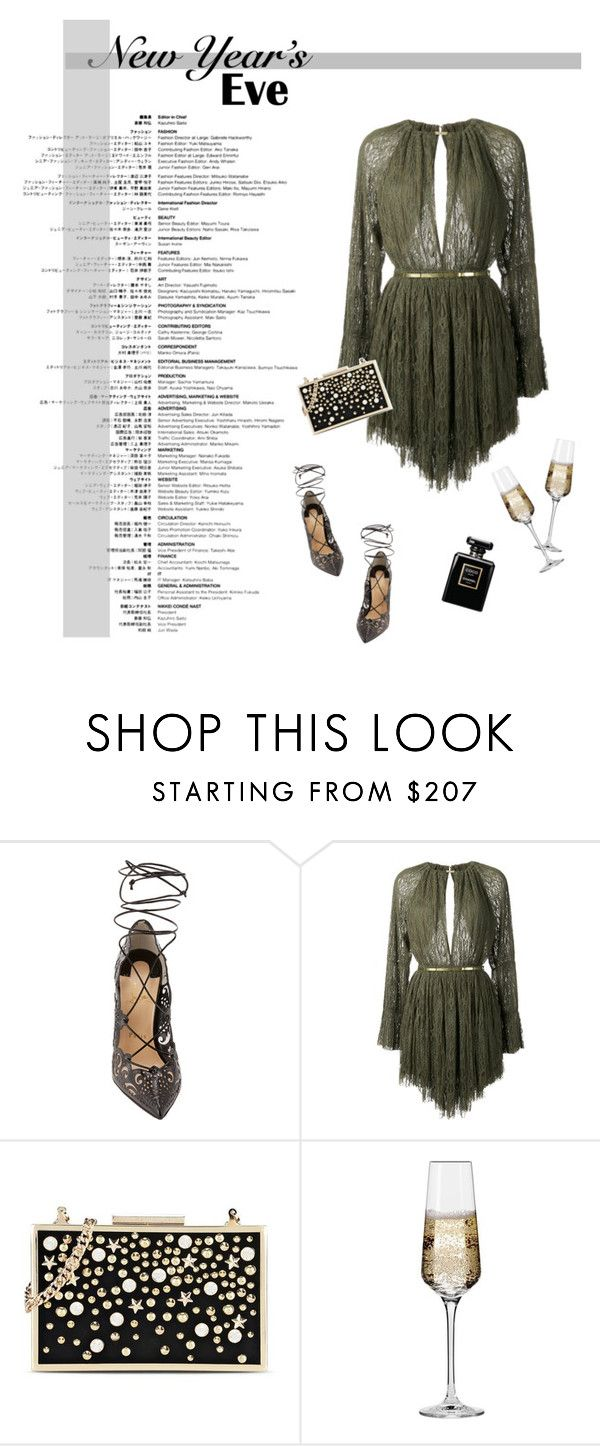 """""""NYE #2 //"""" by prayingtosaintlaurent ❤ liked on Polyvore featuring Christian Louboutin, Jay Ahr, Karl Lagerfeld and Krosno"""
