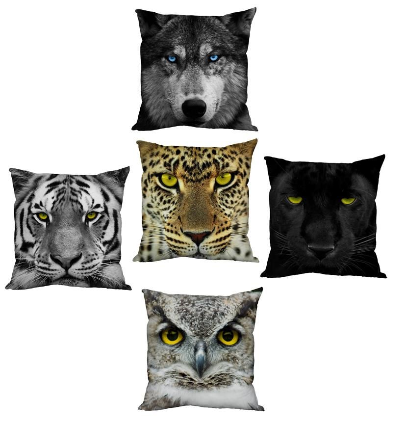 Animal Print Cushions to bring out your WILD side!