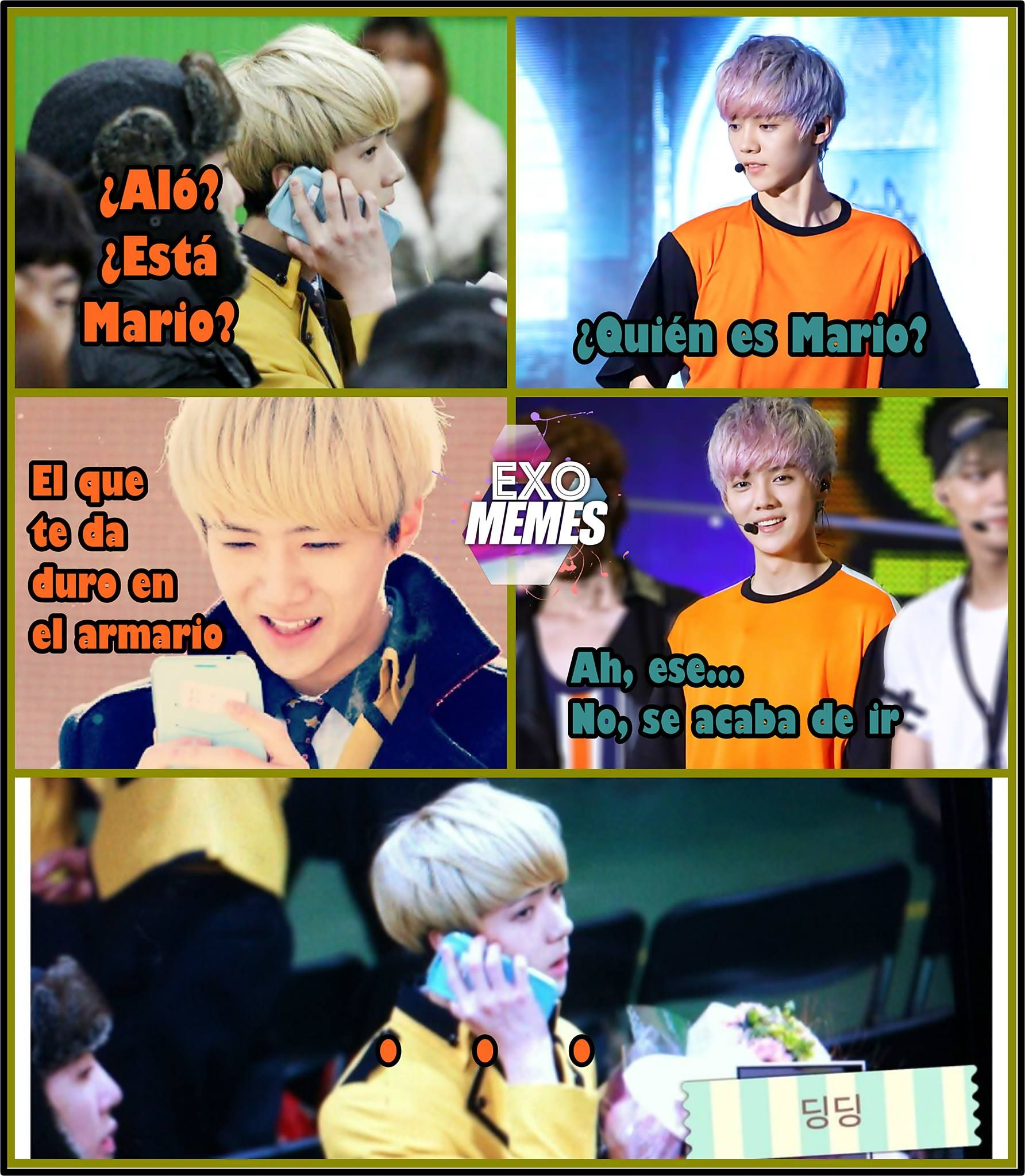 exo meme - hahaahha