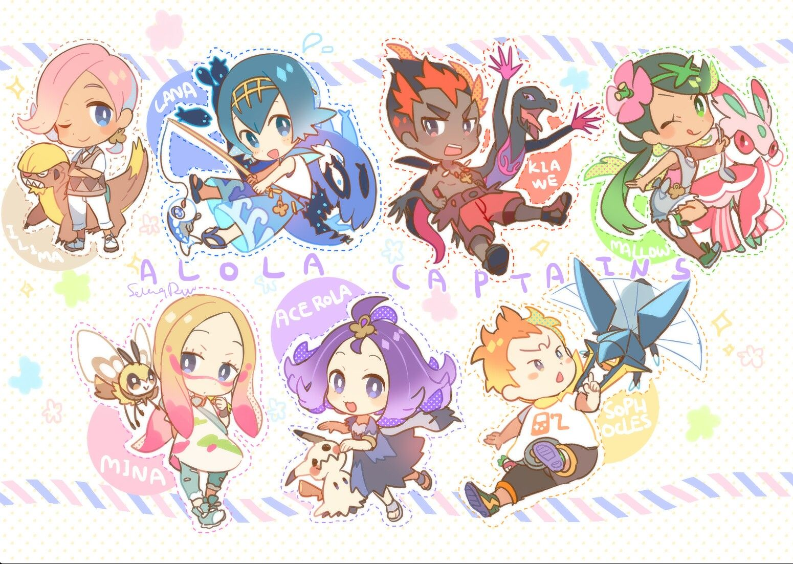 Pin by ♡Zai♡ on AAA Pokemon, Pokemon sun, Pokemon characters