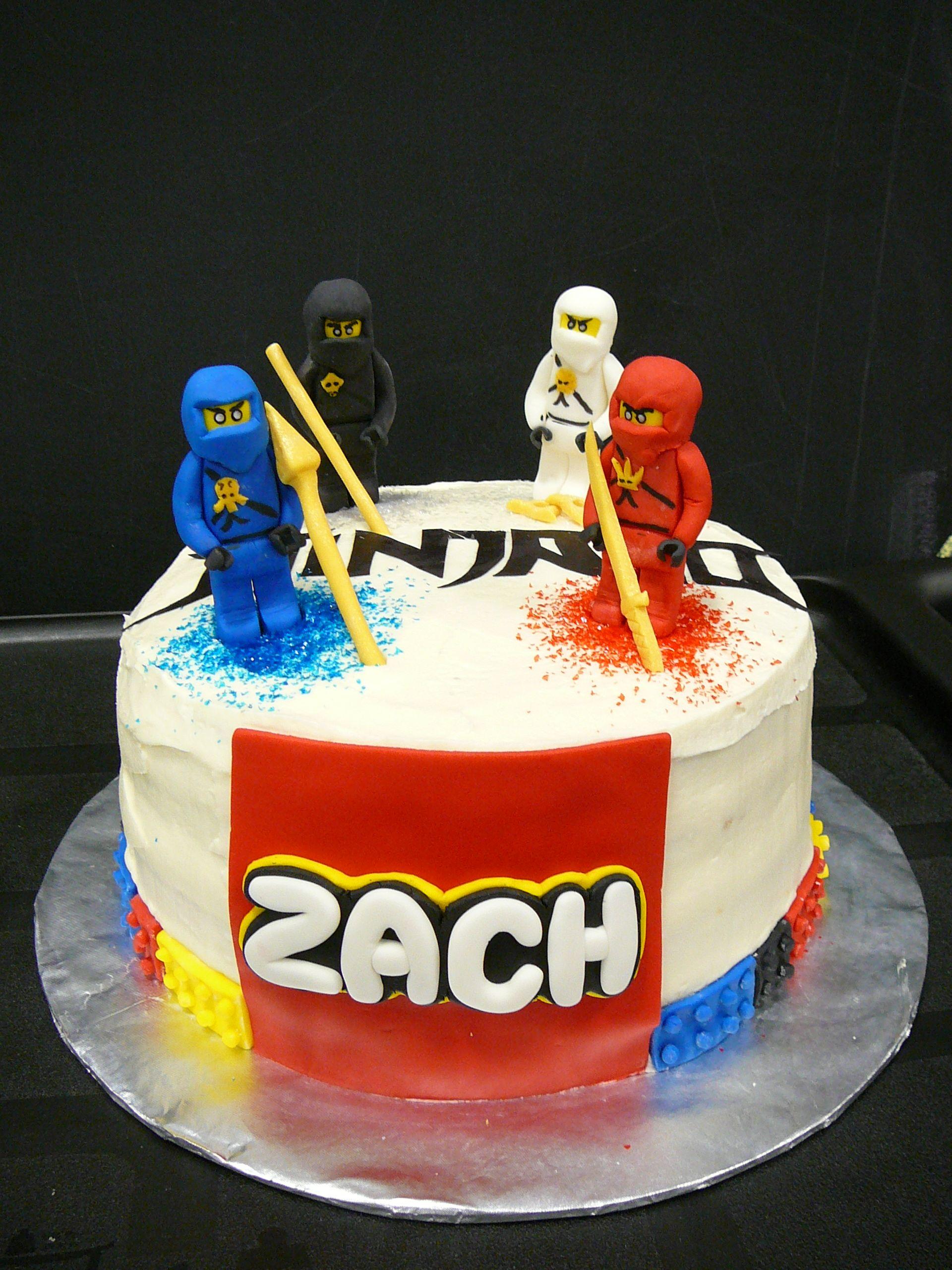 Amazing Lego Ninjago Cake Ninjago Cakes Lego Ninjago Cake Funny Birthday Cards Online Alyptdamsfinfo