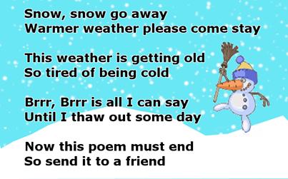 Snow Snow Go Away Quotes Winter Snow Funny Quotes