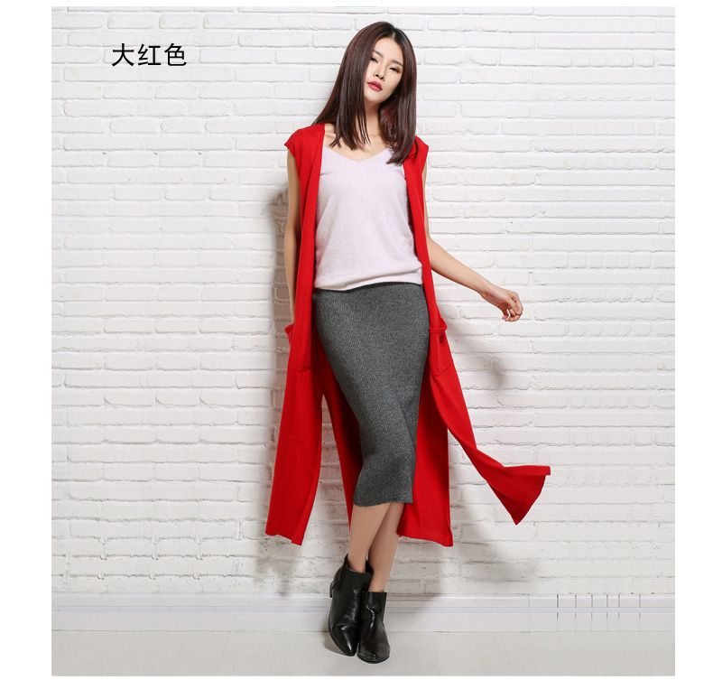 Aliexpress.com : Buy cashmere cardigan sweater vest sleeveless ...