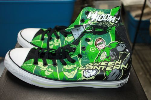 909023bdaac2 Converse All Star Chuck Taylor DC Comics Green Lantern Men s Shoes Size 10