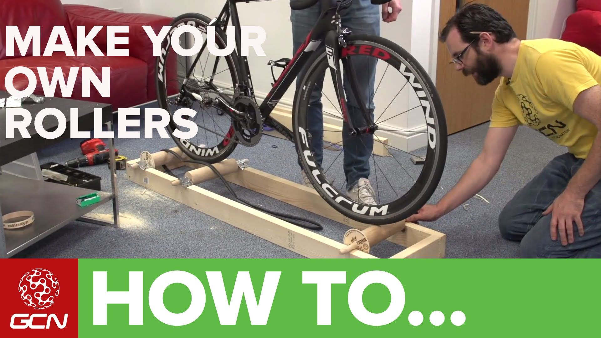 Cycle Rollers Can Be Expensive So Here S How To Make Your Very