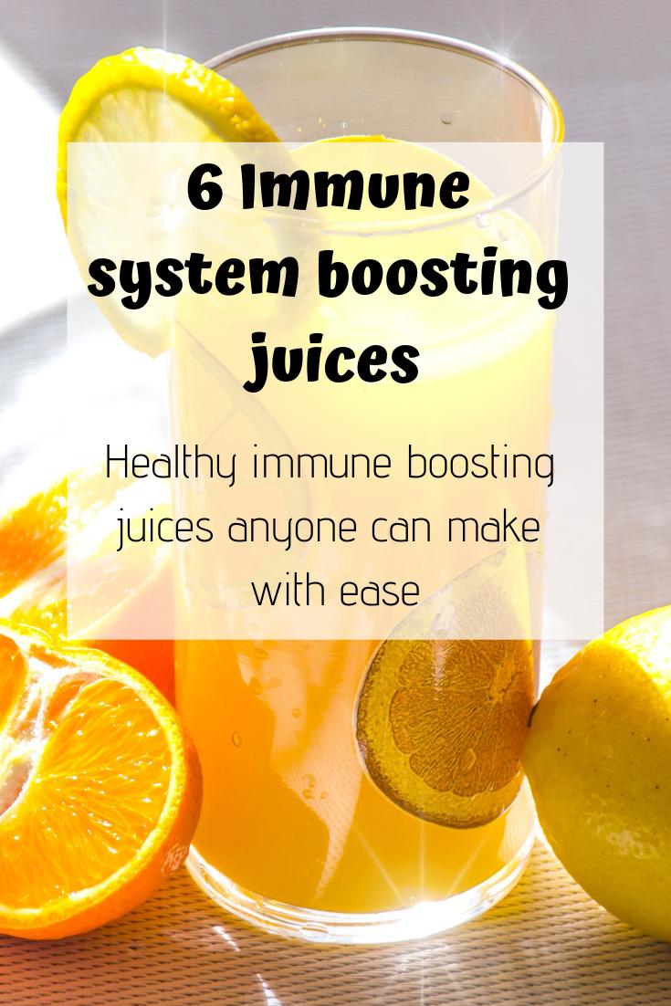 Immune boosting juice recipes