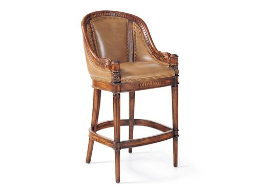 Awesome 126 30 Appointment Bar Stool Height 45 25 Width 23 Depth Machost Co Dining Chair Design Ideas Machostcouk