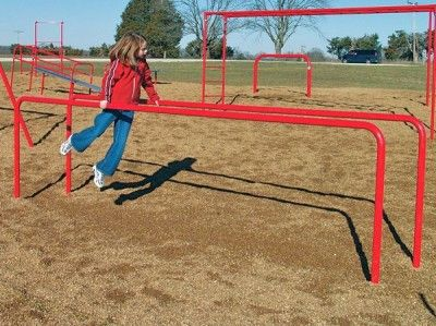 parallel bars fitness equipment school playground equipment loved