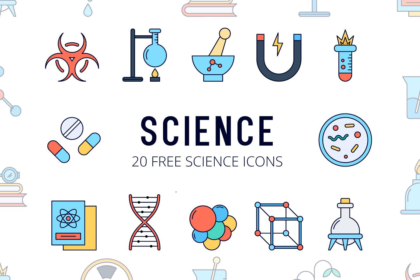 Science Vector Free Icon Set With Images