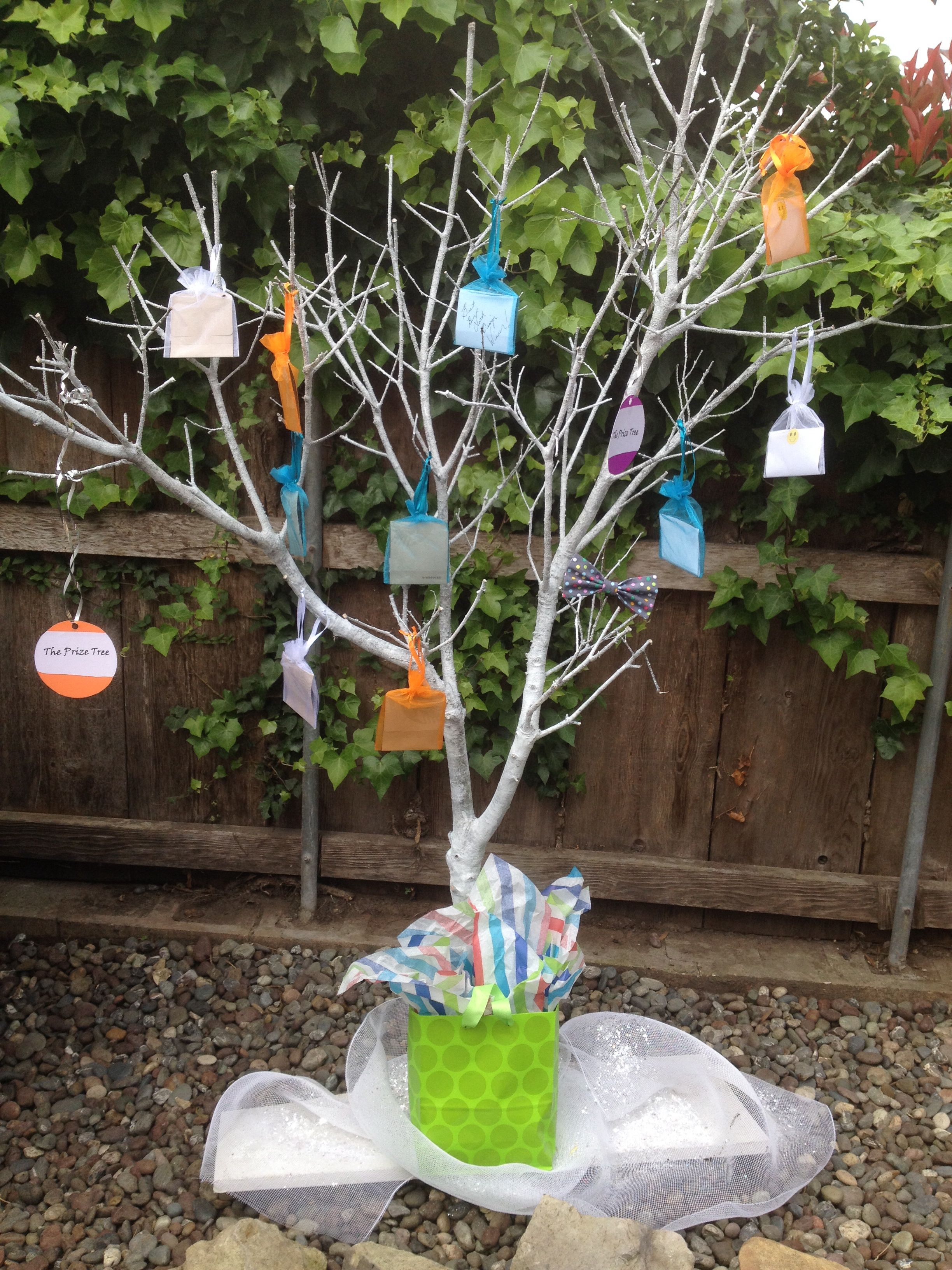 Gift card tree for baby shower - Gift Card Tree Baby Shower Game Prize Tree Win A Game Pick A Prize