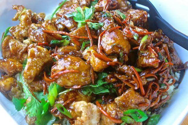 Crispy Mongolian Chicken | IG & Twitter @Krista Lahaye Nayes Williams