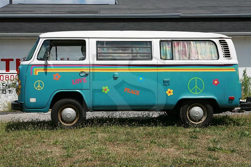 1960 Hippie Vans