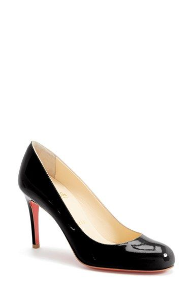 e44639e748e1 Free shipping and returns on Christian Louboutin Simple Pump at Nordstrom. com. Delectably glossy patent leather complements the sleek curves of a  classic ...
