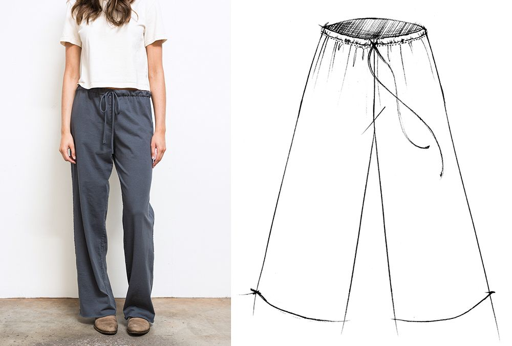 2017 BUILD A WARDROBE: THE DRAWSTRING PANT | The School of Making (+ ...