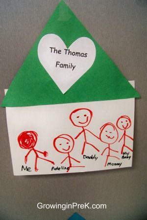 Family Bulletin Boards For Preschool Cute Bulletin Board Of Family