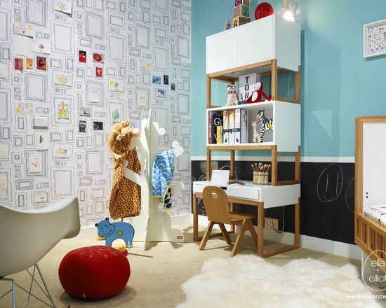 picture wall paper Kids Room Ideas Pinterest Toddler rooms