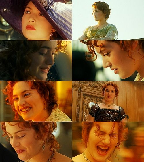 Titanic- Rose. I WANT HER PURPLE HAT!