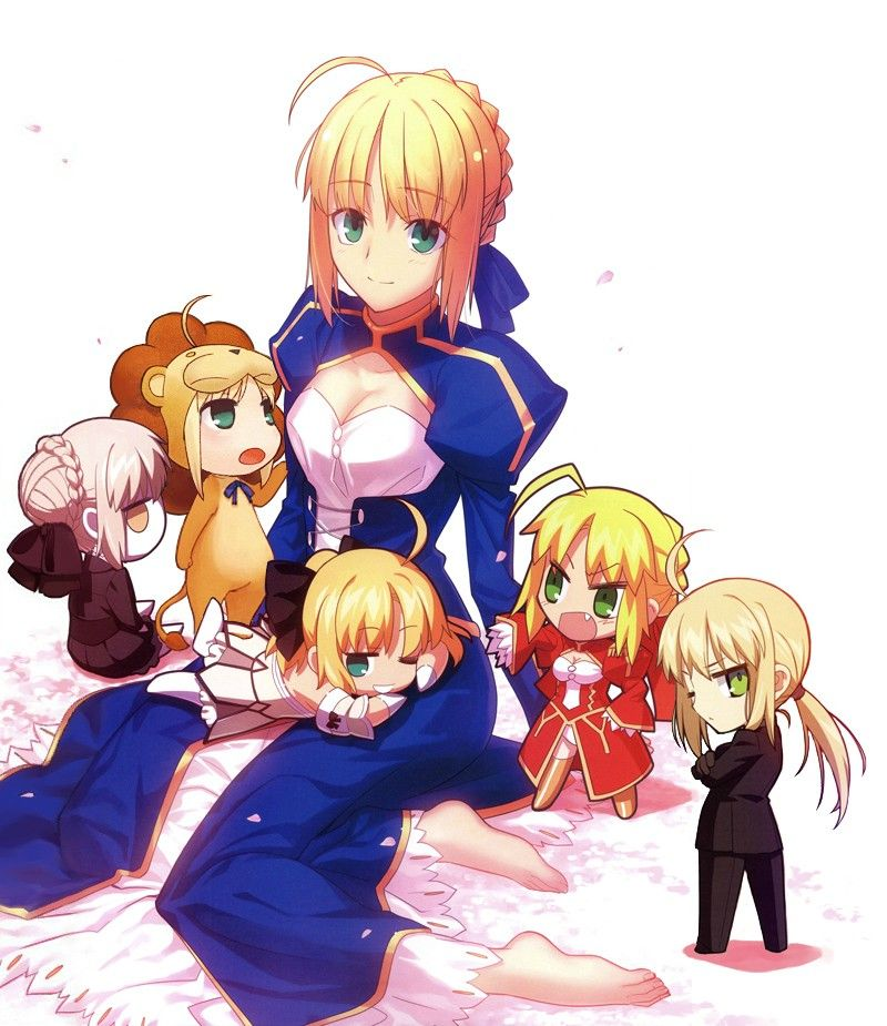 Saber's Worshipers (The Best Female Character In The Fate