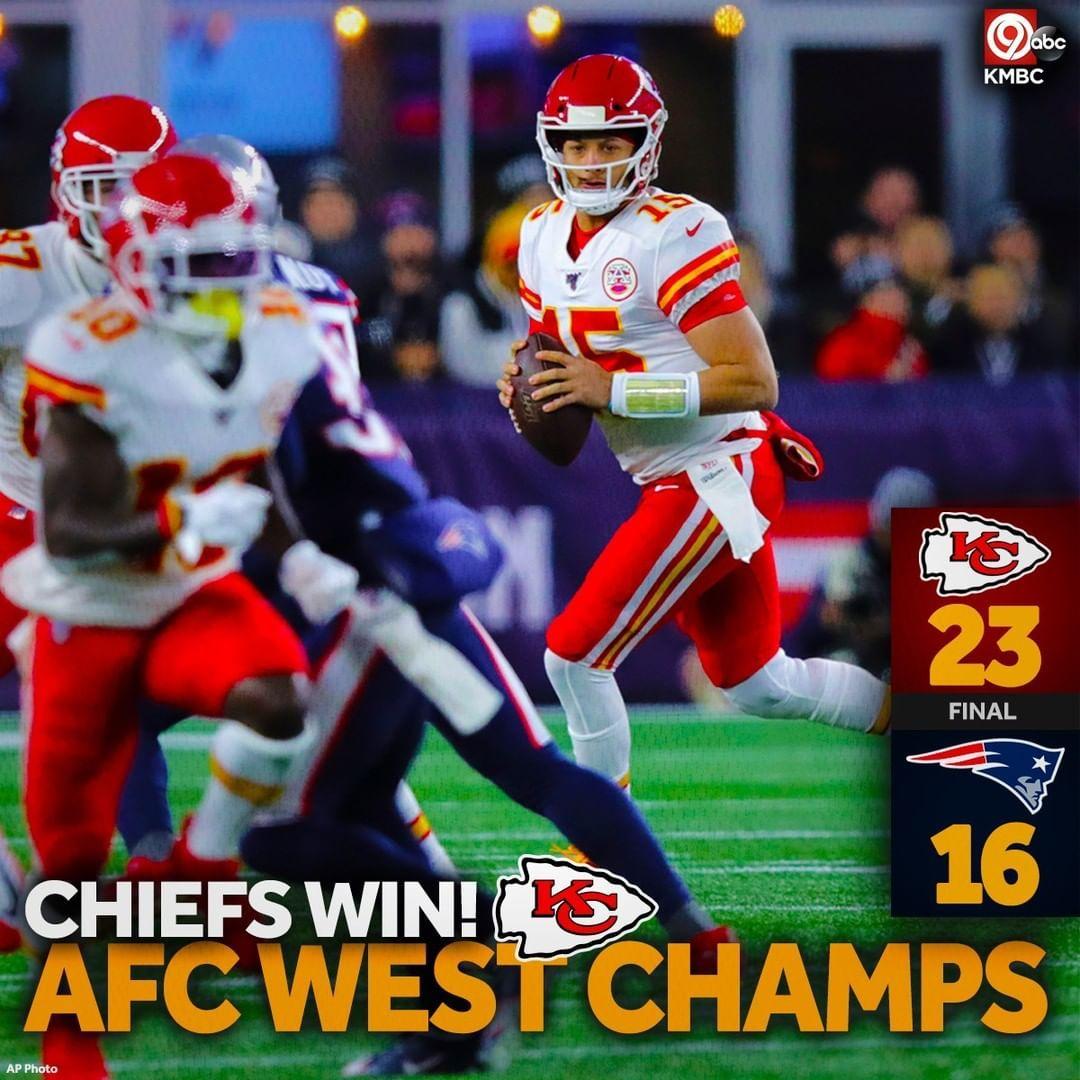 Kmbc 9 On Instagram Chiefs Win Chiefs Win Chiefs Winnnnnn Over The New England Patriots Kansas City Chiefs Football New England Patriots Chief