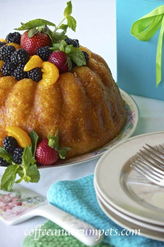 Orange Savarin | Daring Bakers' April Challenge -