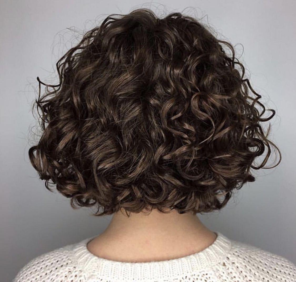 Avedaibw In 2020 Spiral Perm Short Hair Permed Hairstyles Short Permed Hair