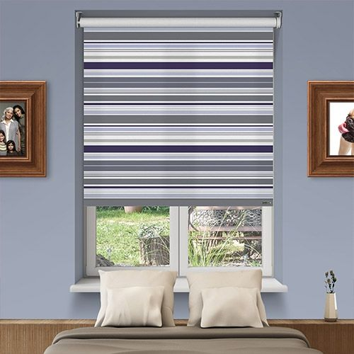 Controliss Eternity Berry Battery Powered Roller Blind Shades Home Homedecor Interiordesign Decor Rollerblinds Creat Roller Blinds Budget Blinds Blinds