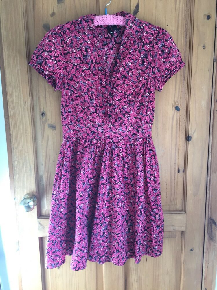 Ladies Womens/_Ditzy Floral Print Dress/_by Club L/_Size UK 18 or 20/_NEW-clothes