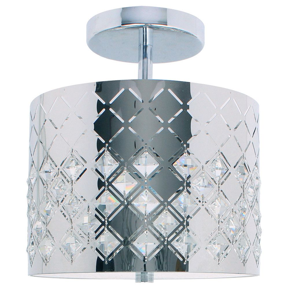 Marsala 1 Light Semi-Flush Mount