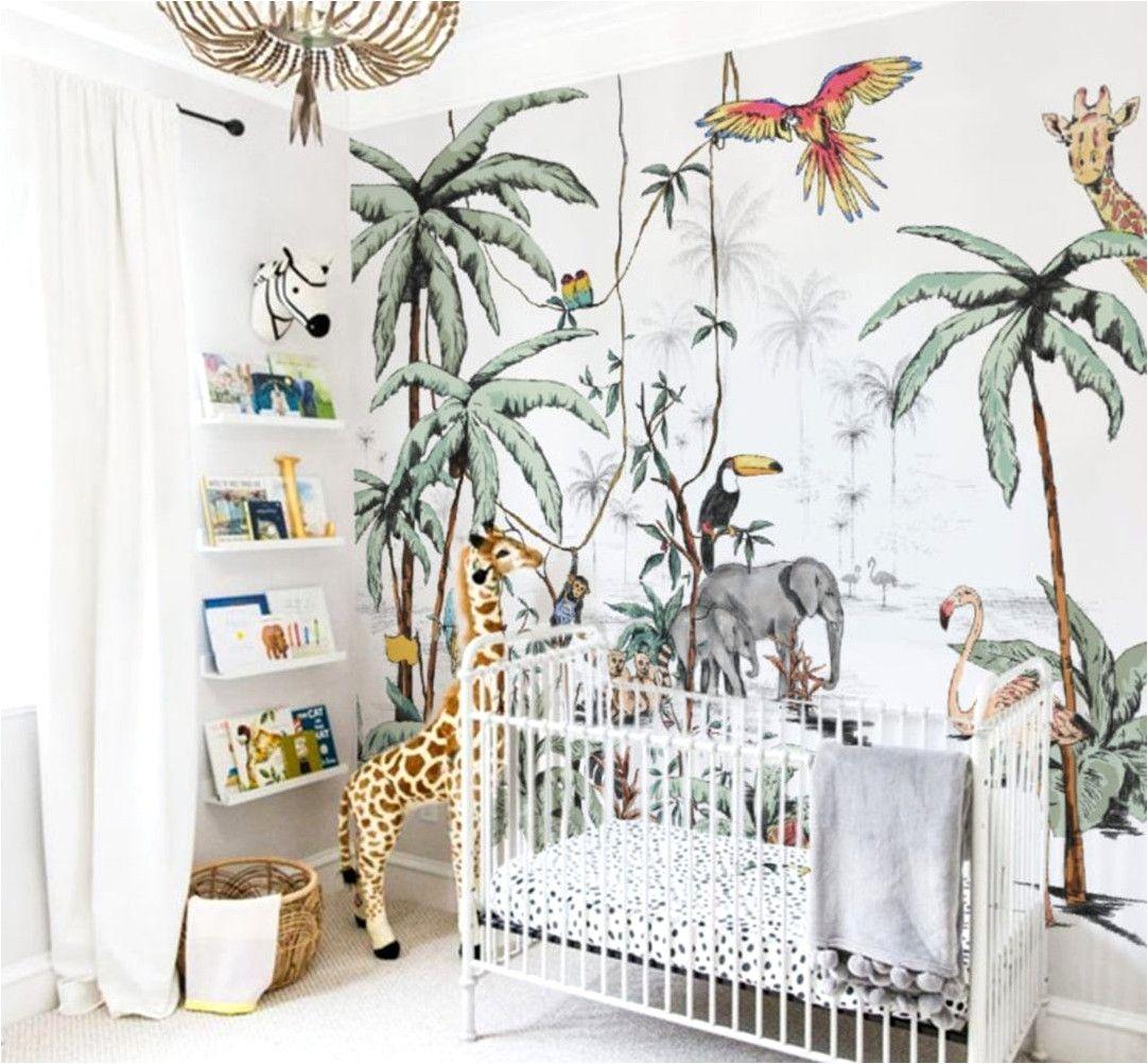 Deco Chambre Enfant Jungle Aventure en 20  Papier peint chambre