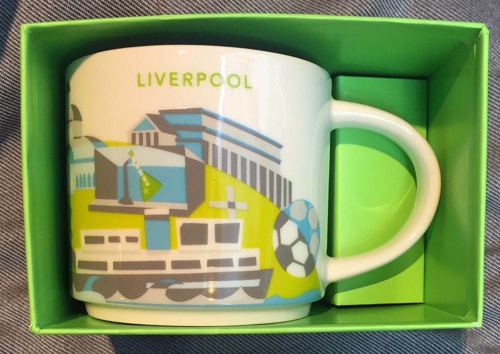 Details about Starbucks Liverpool YAH Mug England You Are
