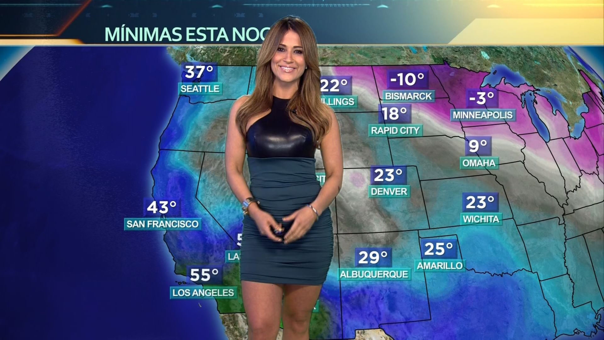 2. Jackie Guerrido Hottest weather girls