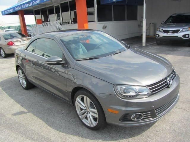 2013 Volkswagen Eos Executivesulev Executive Sulev 2dr Convertible Convertible 2 Doors Indium Gray Metallic For Sale In Fort Volkswagen Eos Fort Lauderdale Fl
