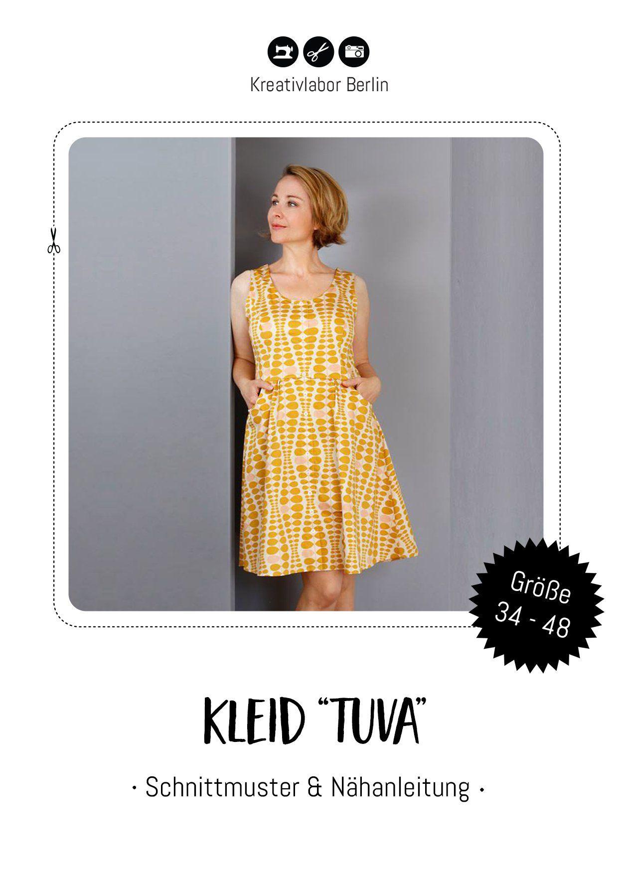 eBook - Tuva - Kleid - Kreativlabor Berlin   Kleider für