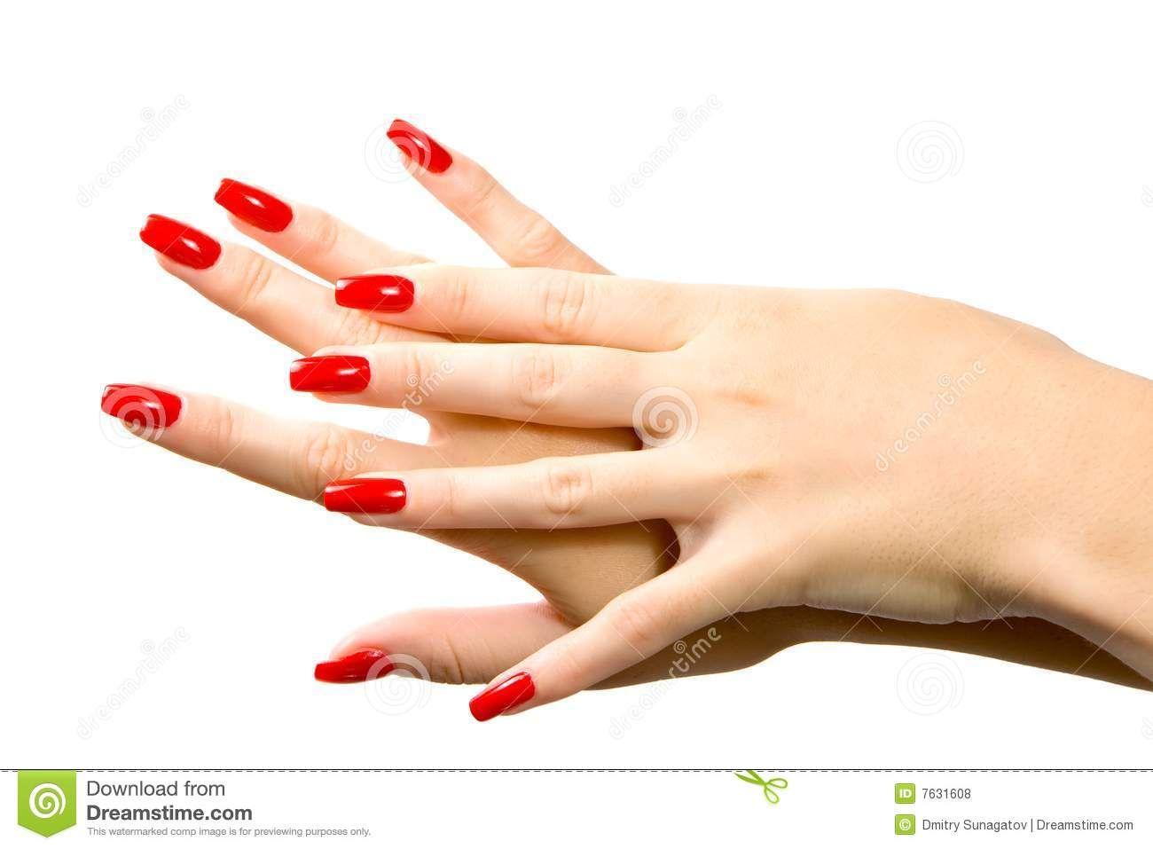 Woman Hand Red Nails 7631608 Jpg 1300 957 Red Nails Nail Photos Nails
