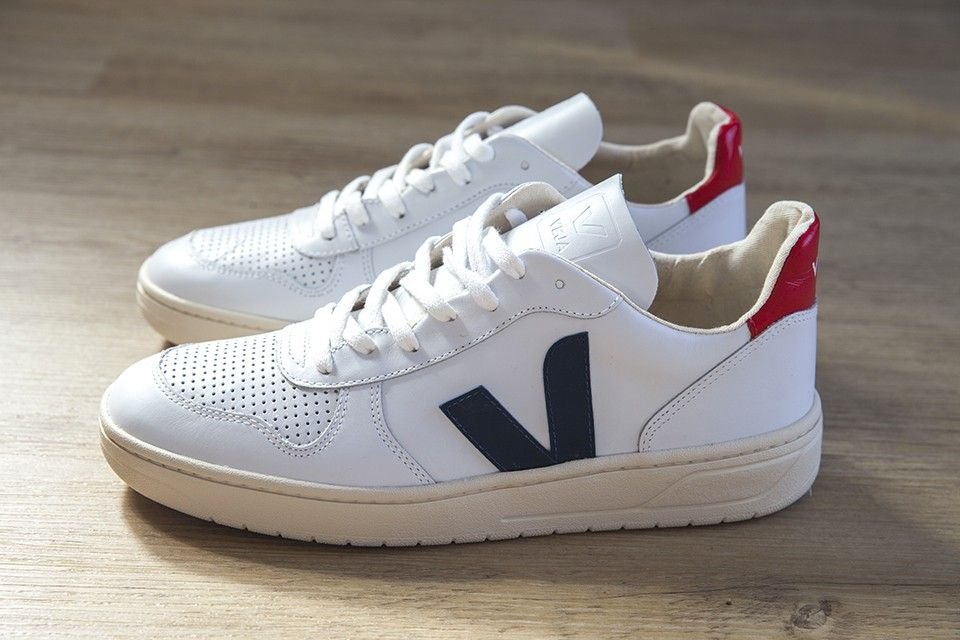 the latest a4011 606b2 Nouvelle paire de chez Veja, les V10 mode baskets veja men shoes  sneackers
