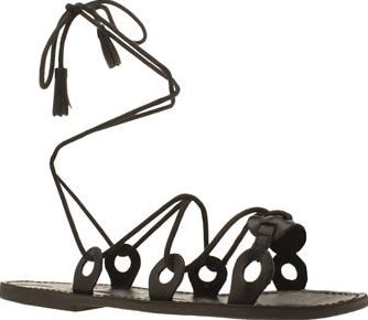 Red Or Dead Black Rod Winnie Womens Sandals Be the ultimate gladiator  goddess as the Red