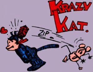 Krazy Cat  La Gata Loca y el Ratón Ignacio