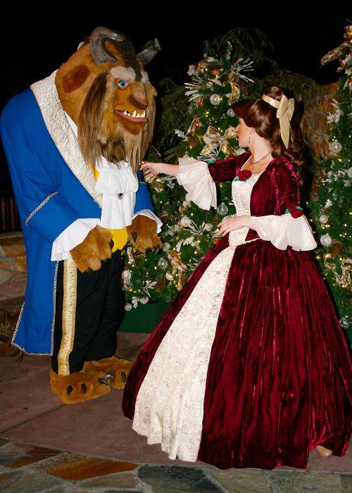 Ready For Christmas Disney World Characters Disney Friends Belle Disney