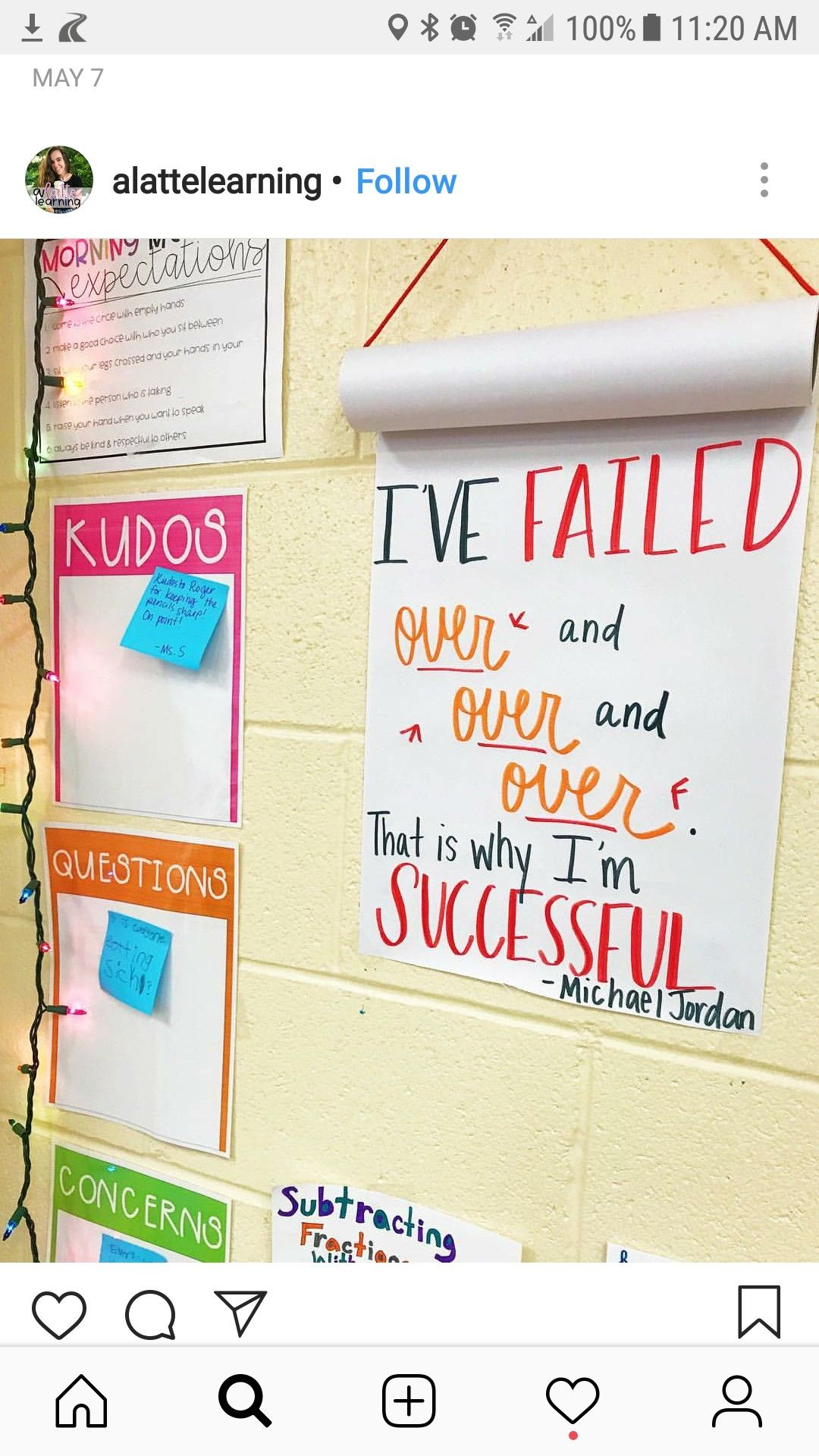 idea for paper roll instead of chart paper classroom quotes