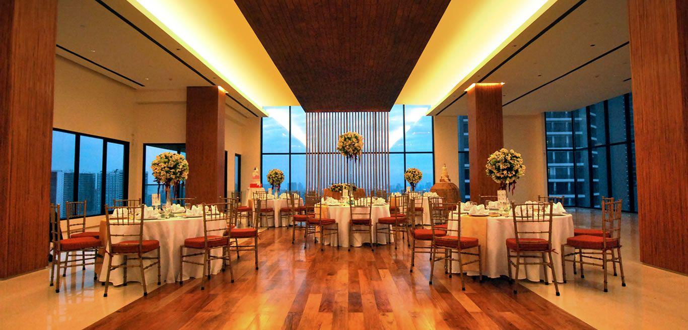 Spacious venue for wedding? Check City Garden Grand Hotel