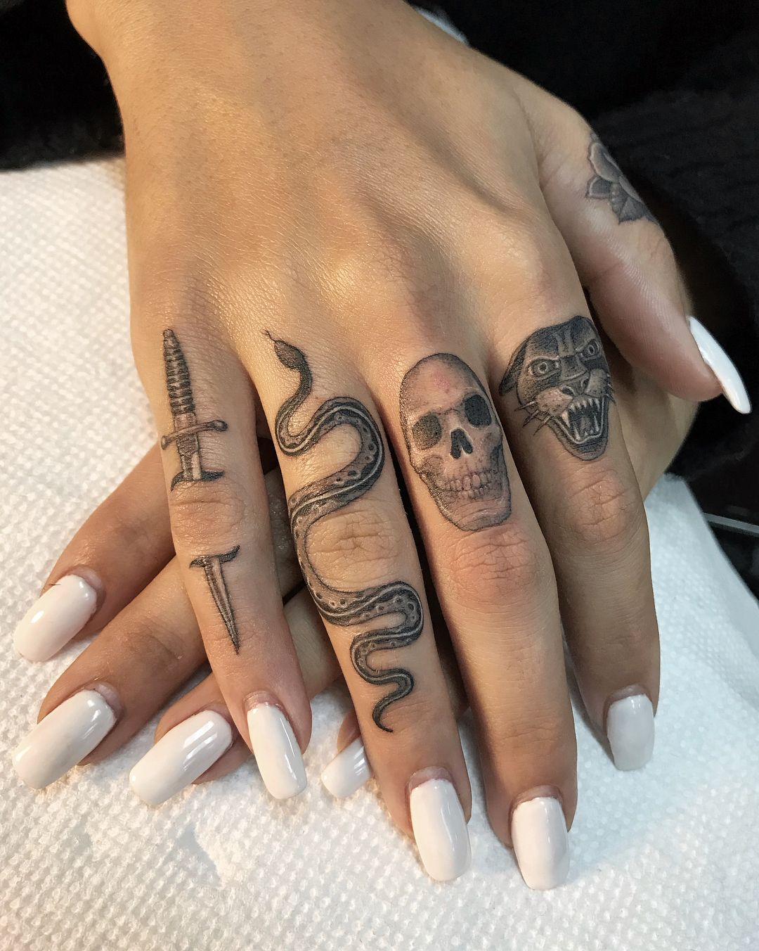 Snake Tattoos Tattoos Finger Tattoos Small Finger Tattoos