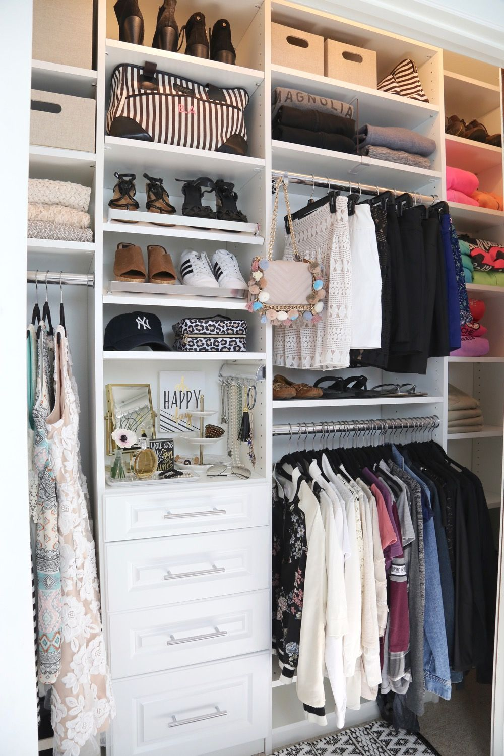 Nice Closet Makeover Project With EasyClosets.
