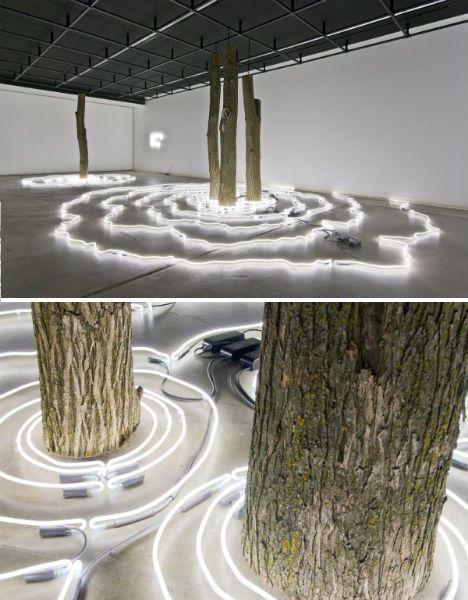 Bright Lights, Big City: 15 (More!) Light Art Installations #lightartinstallation
