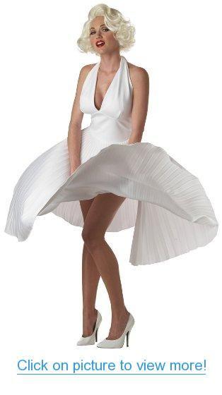 California Costumes Women's Adult Deluxe Marilyn Costume